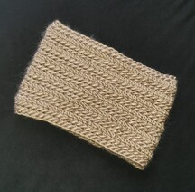 Neck Warmer Taupe