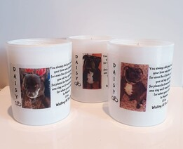 Pet/Photo Memorial Candle