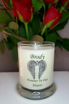 Small Memorial Candles (Minimum x 6)